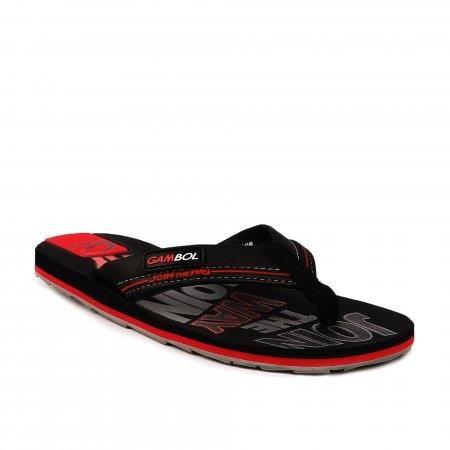 GAMBOL แกมโบล รองเท้าแตะ (นุ่ม) รุ่น GM/GW11305 - สีดำแดง
