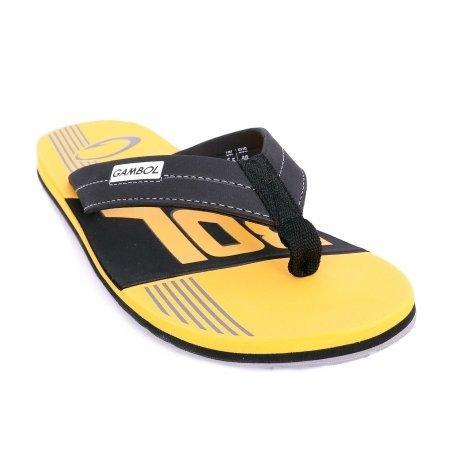 GAMBOL แกมโบล รองเท้าแตะ (นุ่ม) รุ่น GM/GW11323 - สีเหลือง