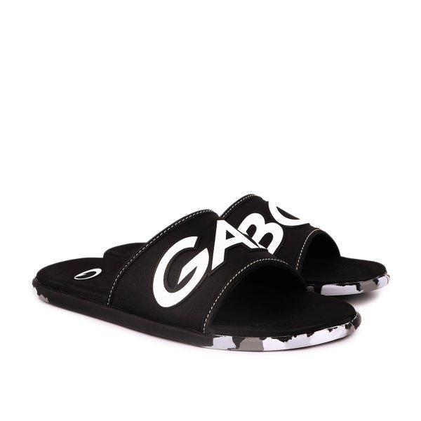 GAMBOL แกมโบล รองเท้าแตะลำลอง (นุ่ม) รุ่น GM12106 - สีดำ