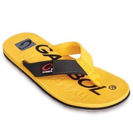 GAMBOL แกมโบล รองเท้าแตะ (นุ่ม) รุ่น GM/GW11283 - สีเหลือง