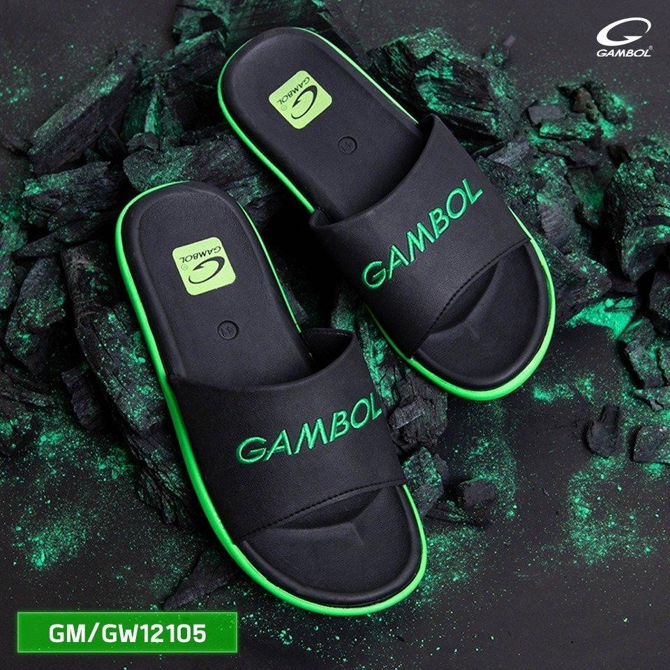 GAMBOL แกมโบล รองเท้าแตะชายหญิง (นุ่ม) รุ่น GM/GW12105 Size 36-44