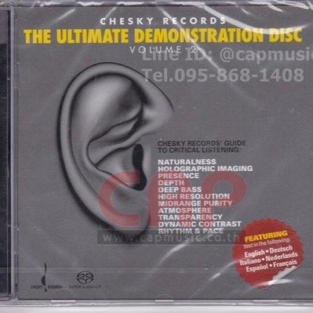 SACD Chesky Records | The Ultimate Demonstration Disc Vol. 2 (Hybrid/Stereo)