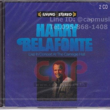 CD Harry Belafonte | Live In Concert At The Carnegie Hall (2CD)