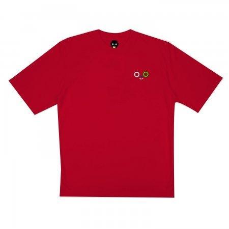 เสื้อ Dom outline tee (แดง)