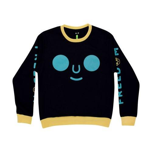 เสื้อ SWEATER DOMFACE (Navy)