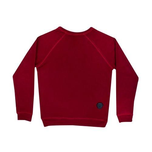 เสื้อ FACE CAMO SWEATER (Red)