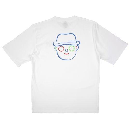เสื้อ Dom outline tee (ขาว)