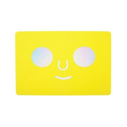 POSTCARD DOM FACE (Yellow)