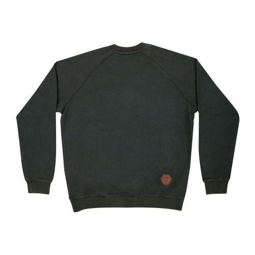เสื้อ SWEATER ปักหน้าดม (Khaki)