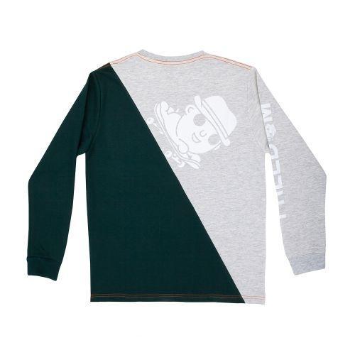 เสื้อ SWEATER DOMDOG TWOTONE (เขียว)