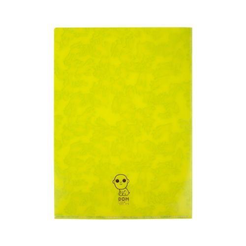 แฟ้ม 2 ชั้น (Yellow)