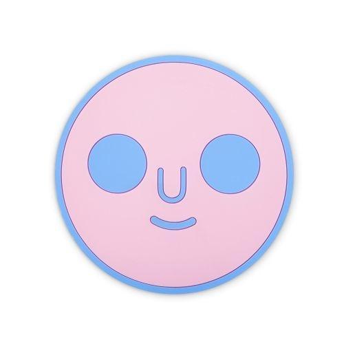 ที่รองแก้ว DOM FACE (Pink)