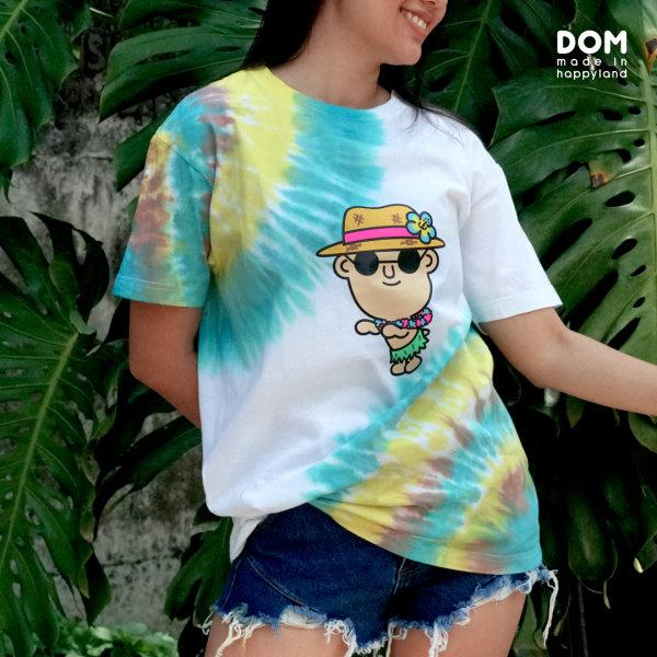 Dom hula t-shirt (green)