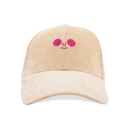 หมวกแก็ปลูกฟูก / DOMFACE CAP (Beige)