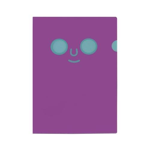 แฟ้ม DOMFACE (Purple&Blue)