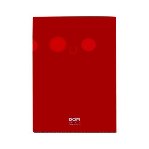 แฟ้ม DOMFACE (Black&Red)