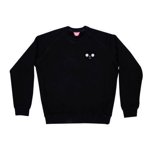 เสื้อ SWEATER ปักหน้าดม (Black)