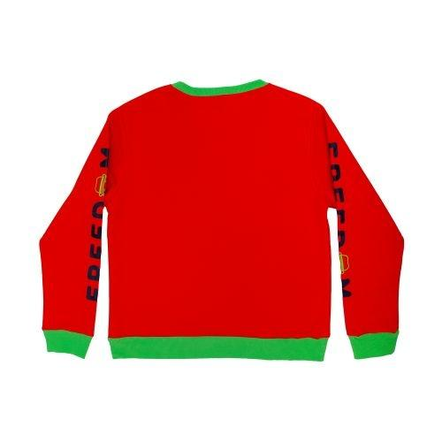 เสื้อ SWEATER DOMFACE (Orange)