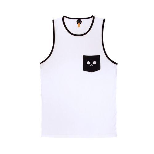 เสื้อกล้าม หน้าดม (White Navy)