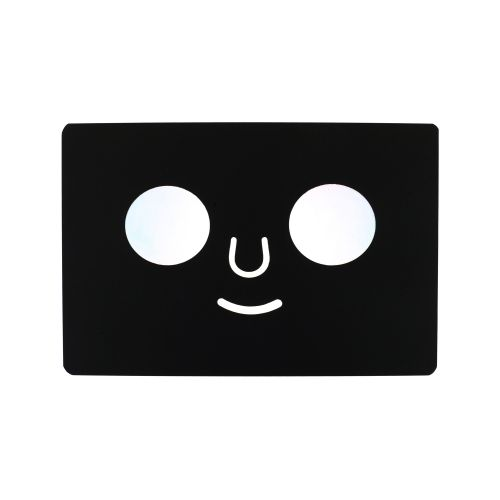 POSTCARD DOM FACE (Black)