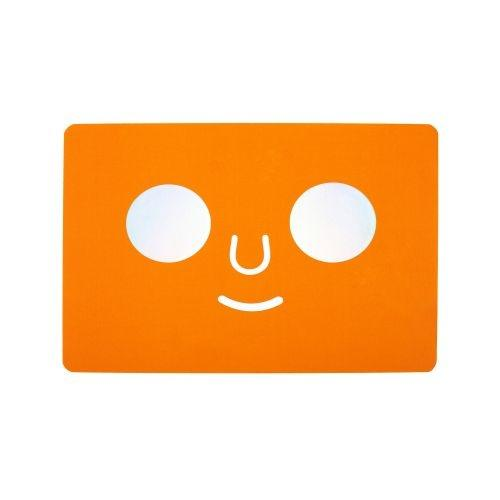 POSTCARD DOM FACE (Orange)