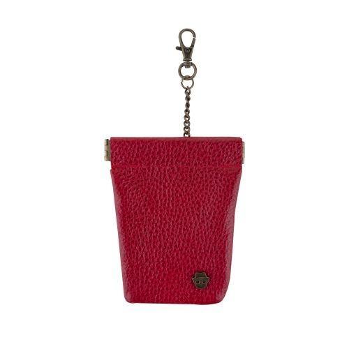 ซองหนังใส่กุญแจ (Red)