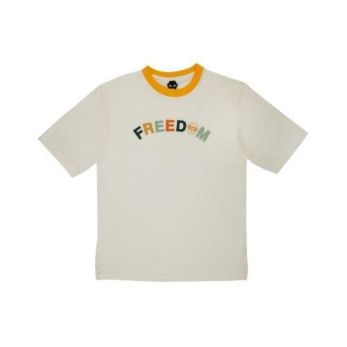 เสื้อ COLOR FREEDOM (ออฟไวท์)