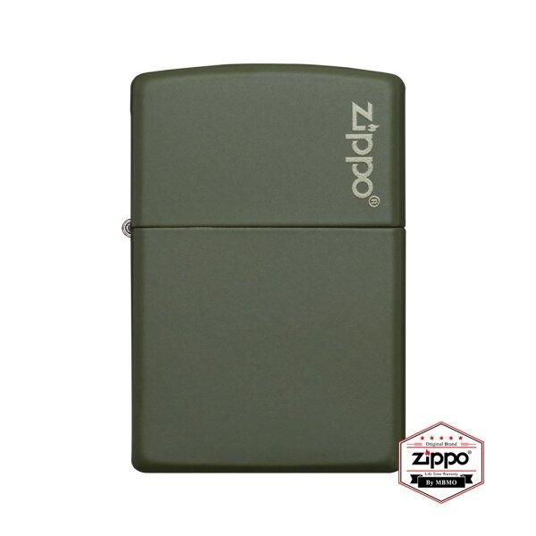 221ZL Green Matte with Zippo Logo