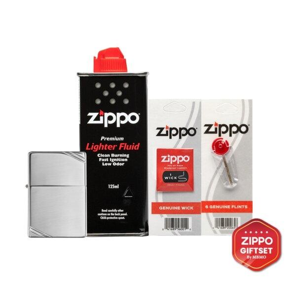 Gift Set : 260 Vintage High Polish Chrome with Slashes (4 different products)