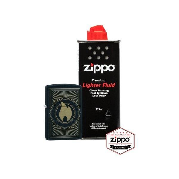 899 set: 49217 Zippo Deco Flame Design with Fluid
