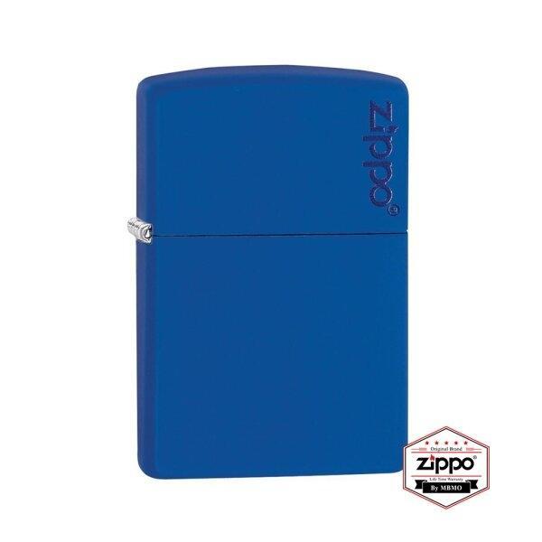 229ZL Royal Blue Matte with Zippo Logo