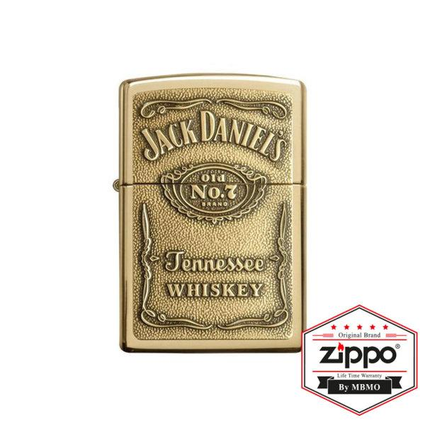 254BJD.428 Jack Daniel's® High Polish Brass Emblem Attached