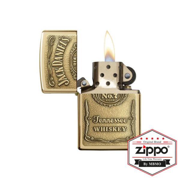 254BJD.428 Jack Daniel's® High Polish Brass Emblem Attached