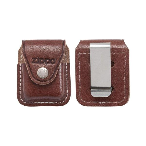 LPCB Lighter Pouch with Clip (Brown)