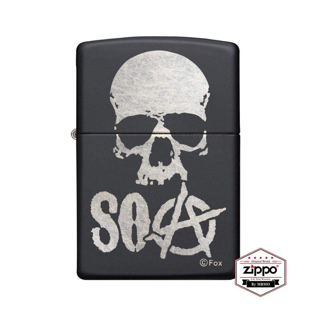 29891 Sons of Anarchy™ Black Matte Skull