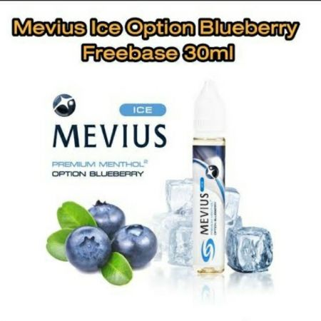 Mevius Ice Option Blueberry 30ml ฟรีเบส