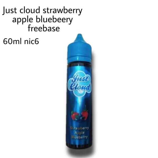 Just cloud strawberry apple bluebery ฟรีเบส