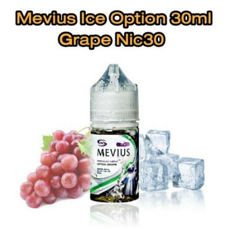 Mevius Ice Option Grape 30ml Nic30
