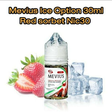 Mevius Ice Option Red Sorbet 30ml Nic30
