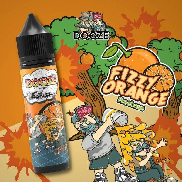 Dooze Fizzy orange 60ml ฟรีเบส