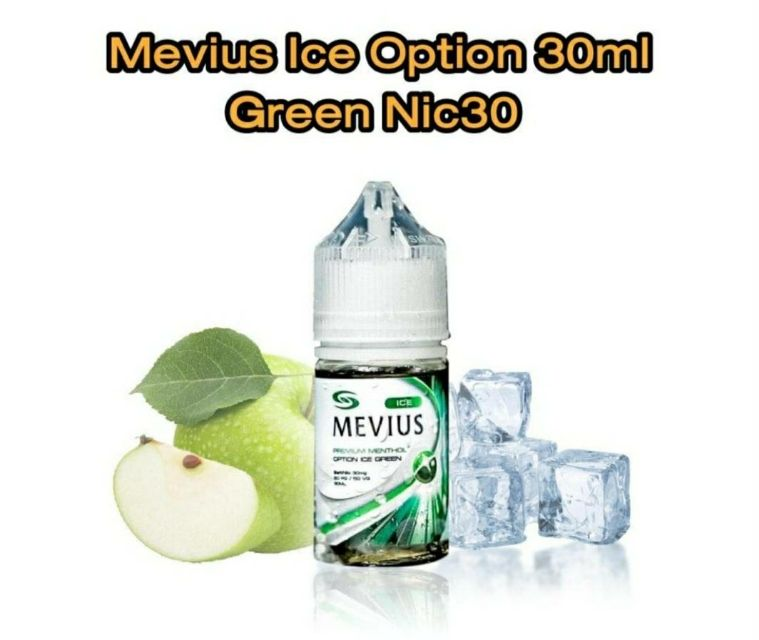 Mevius Ice Option Green 30ml Nic30