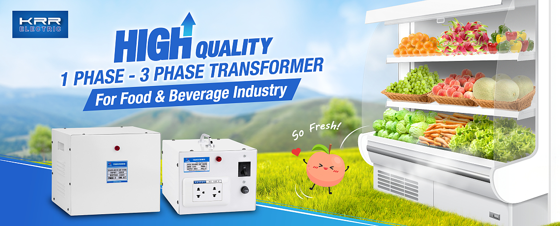 1P - 3P Transformers for Commercial Refrigerators and Freezers