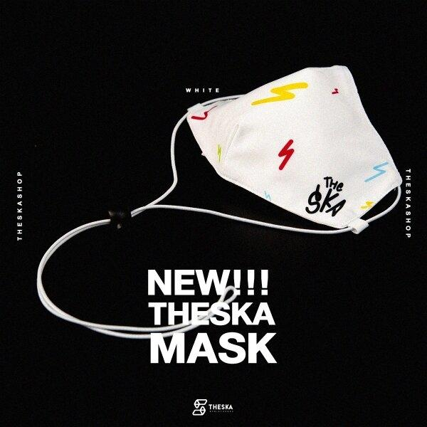 THE SKA MASK WHITE