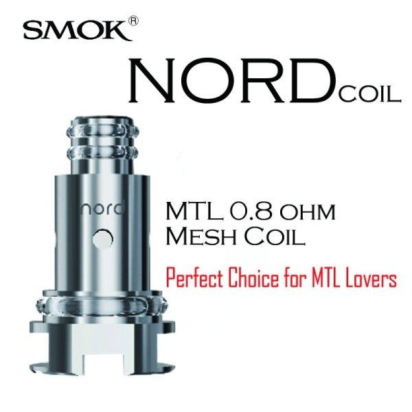COIL FOR SMOK NORD 0.8 MESH COIL MTL 1/ชิ้น