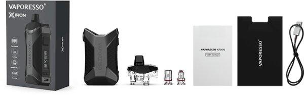 F บุหรี่ไฟฟ้า Vaporesso XIRON 50W Pod Kit 1500mAh [แท้]