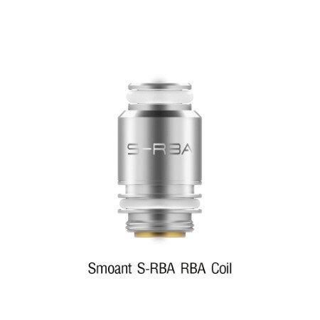 F Smoant Santi S-RBA RBA Coil [1ชุด][คอยล์โม]
