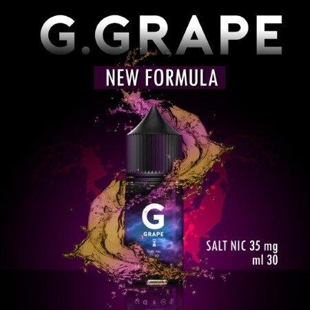 F G Grape Salt Nic 30ml Nic35 [น้ำยาพอด Salt Nic]