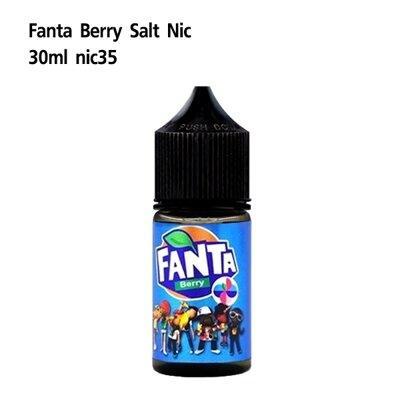 F Fanta Salt Berry Nic35 30ml เย็น[น้ำยา POD SALT NIC]