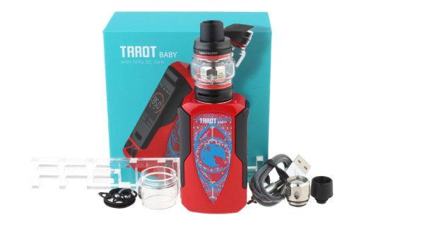 บุหรี่ไฟฟ้า VAPORESSO TAROT BABY 85W TC KIT [แท้] ถ่านในตัว