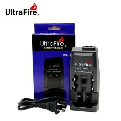 F รางชาร์จ 2 ราง UltraFire WF-139 Battery Charger (ปลั๊กไฟบ้าน)[แท้]